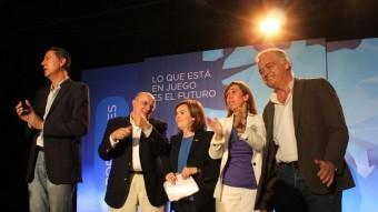 El míting de final de campanya del PP EL PUNT AVUI