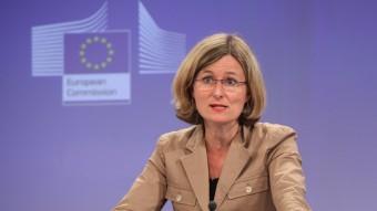 La portaveu de la Comissió Europea, Pia Ahrenkilde ACN