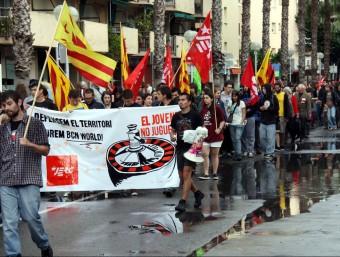 Manifestació en contra de BCN World el passat mes de maig a Salou ARXIU / ACN