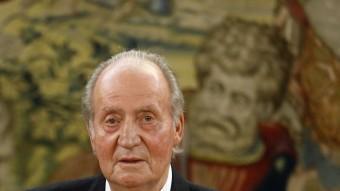 El rei Joan Carles I el setembre de l'any passat REUTERS