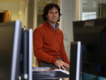 Nacho Huertos (a la foto) i David Ubide són els dos fundadors de Didactic Apps.  ANDREU PUIG