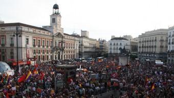 concentra´ció a la Puerta del Sol EFE