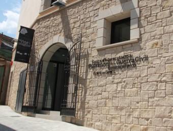 la façana del centre d'interpretació D.M.
