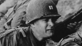 Tom Hanks i Tom Sizemore a 'Salvar el soldado Ryan' ARXIU