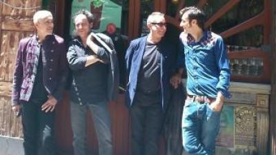Gerard Jacquet, Pascal Comelade, Pere Figueres i Raph Dumas a la Casa Almirall de Barcelona ALEIX RENYÉ