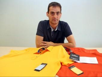 Santi Simón és un dels dos socis fundadors de Batech.  JUANMA RAMOS