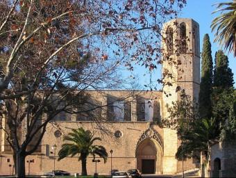 Exteriors del Monestir de Pedralbes de Barcelona.  ARXIU