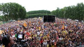 Una imatge del concert del 2012