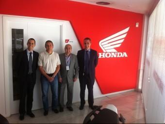 L'acord per la cessió d'Honda es va fer aquesta setmana amb representants de totes les parts. EL PUNT AVUI