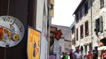 Un dels carrers típics de Vilafranca LLUÍS SERRAT
