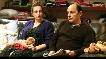 Valérie Crouzet i Jean-Pierre Bacri, dos dels actors d'aquest conte LES FILMS A4