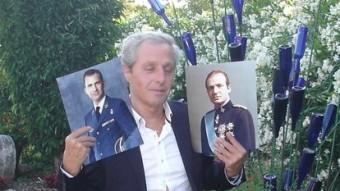L'empordanès Albert Solà es considera fill de Joan Carles I TURA SOLER