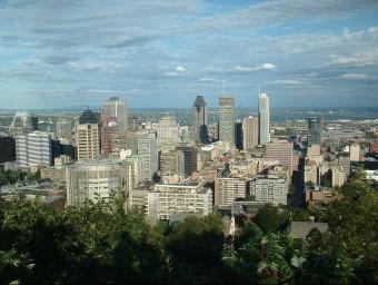 Mont-real, capital econòmica del Quebec, es considera més propera culturalment a Europa.  FLICKR / MARTIN AKA MAHA