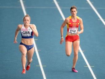 Estela Garcia , onzena en els 100 m PETER STEFFEN / EFE