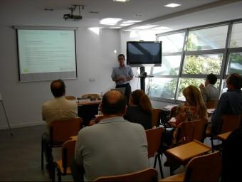 Imatge d'una de les sessions formatives organitzades pel Col·legi d'Economistes a Lleida.  ARXIU / COL·LEGI D'ECONOMISTES
