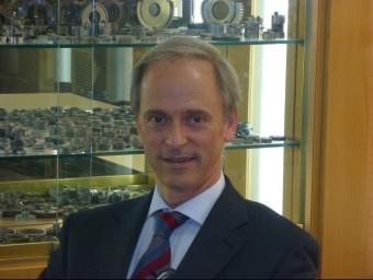 César Molins és la segona generació d'aquesta empresa familiar.  AMES