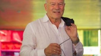 Volker Schlöndorff ahir a la Filmoteca de Catalunya. Avui hi tornarà a ser per inaugurar tres cicles MARTA PÉREZ / EFE