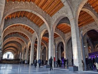 Es podria dir que la gran fàbrica de la revolució industrial medieval va ser les Drassanes.  J.RAMOS