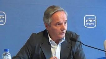 Pedro Gómez de la Serna. Portaveu de la comissió constitucional del PP ARXIU