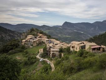 Imatge del poble d'Ossera, un dels nuclis de població que conforma La Vansa i Fórnols. EDU BAYER / MICROCATALUNYA MICROCATALUNYA