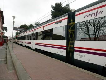 Un tren de Rodalies ARXIU