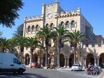 L'Ajuntament de Ciutadella ARXIU