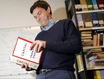 Thomas Piketty, l'autor del llibre 'Le capital au XXIe siècle'.  REUTER
