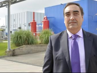 Josep Ribas, director industrial de la companyia, a les instal·lacions de Palafolls.  ARXIU