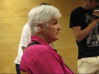 L'acusada, Antonia Sánchez Díaz, ahir al banc dels acusats. Ò. PINILLA