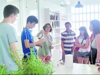 Participants en el programa d'emprenedoria organitzat per Goral