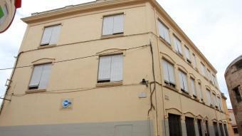 L'antiga seu de la UNED , en el Barri Vell de Girona. EL PUNT AVUI