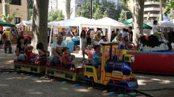 El trenet de la zona infantil J.S.
