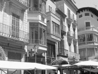 Street Market in Mallorca. Archive