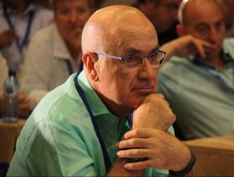 El líder d'Unió, Josep Antoni Duran i Lleida, durant la XX Escola d'Estiu que el partit va celebrar a Caldes de Malavella el passat 29 de juny ACN