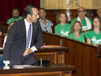 Bauzà al Parlamentel dia que es va aprovar el decret del trilinigüisme EFE