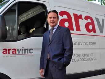 Josep Ribera va fundar Ara Vinc el 1990.  ARXIU