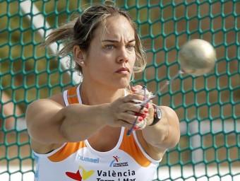 Berta Castells aspira a conquerir avui el seu dotzè títol estatal de martell EFE