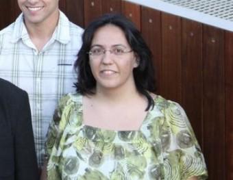 Isabel Lozano, portaveu d'ERC a l'Ajuntament de Caldes. EL PUNT AVUI