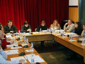 El ple de l'Ajuntament de Cassà va aprovar la moció l'abril del 2013 MANEL LLADÓ