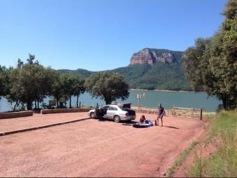 S'ha habilitats la zona d'aparcament i també el fins ara degradat espai de pícnic ELPUNT-AVUI