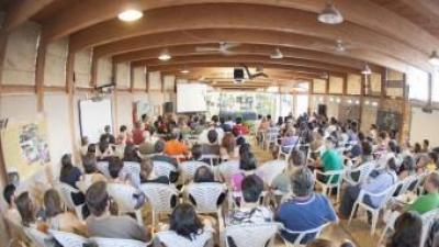 Reunió ecologista d'una anterior edició a Carrícola. EL PUNT AVUI