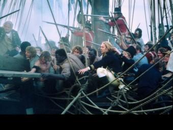 Una imatge de 'Master & Commander', film basat en les obres de Patrick O'Brian ARXIU