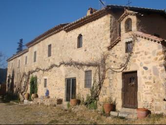 Una imatge de Can Coure de Tossa. Ara és un habitatge, de la qual es té documentació escrita des del 1264 M.A. PUJOL
