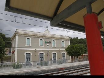 El tren havia de sortit de l'actual estació de Gualba
