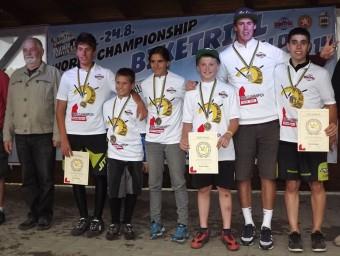 Els joves catalans guanyadors del campionat L'ESPORTIU