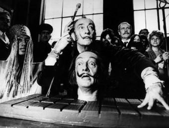 El genial pintor empordanès Salvador Dalí.  ARXIU