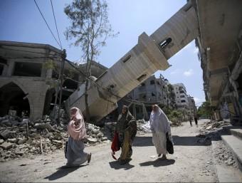 Els bombardejos a Gaza o la tensió de Rússia i Ucraïna fan pujar la tensió a Europa  EFE
