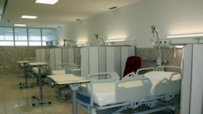 Una vista de les instal·lacions del nou hospital transfronterer de la Cerdanya, a Puigcerdà. EL PUNT AVUI