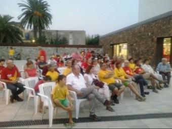 L'acte convocat per l'ANC de Verdera, ahir a la tarda, a Vilajuïga EL PUNT AVUI