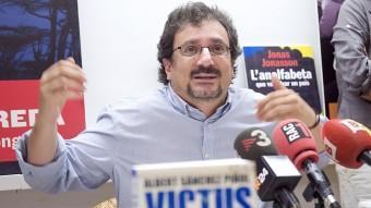 Un dels darrers casos de censura el va patir Albert Sánchez Piñol per part de l'ambaixada espanyola a Holanda JOSEP LOSADA